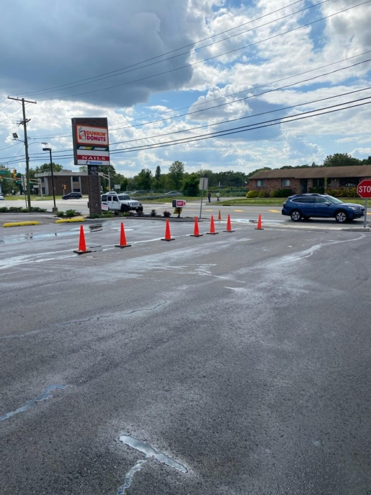 Dunkin Donuts Paving
