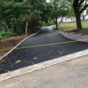 Asphalt paving in Belgian block Holmdel NJ
